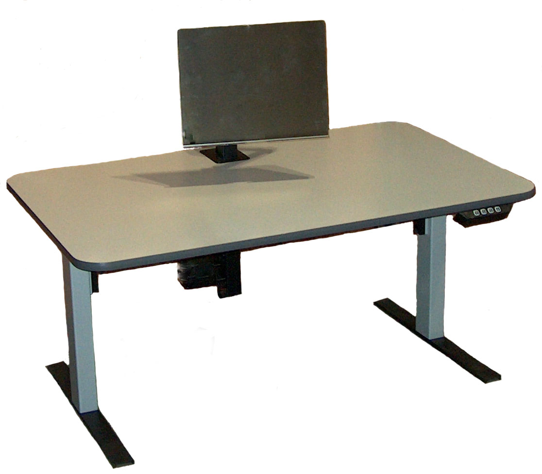 Infinity Station Electrrically Adjule Affordable Ergonomic Computer Workstation Solutions